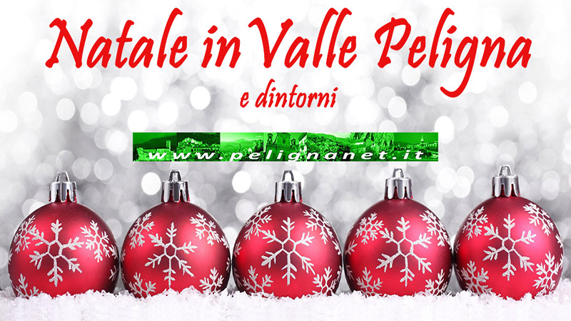 Eventi Natale in Valle Peligna - Pelignanet.it