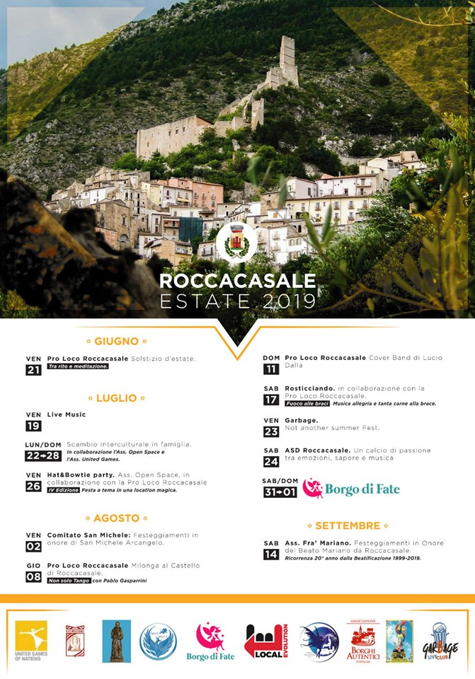 Estate 2019 a Roccacasale (AQ)